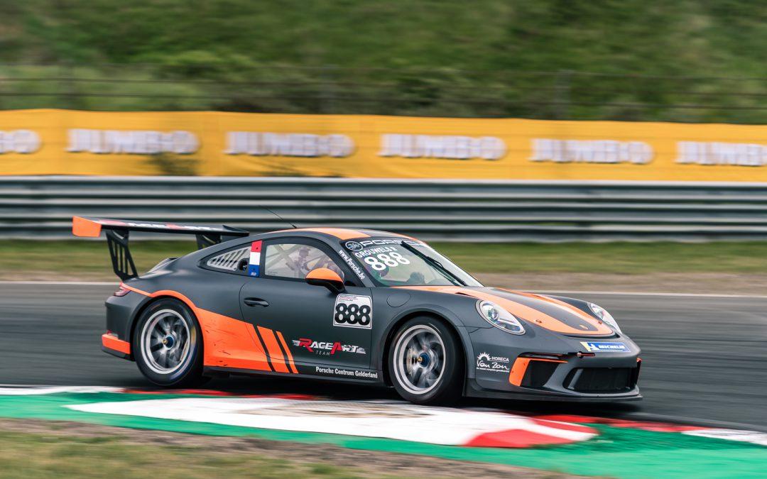 Team RaceArt kent moeilijker weekend in Porsche GT3 Cup Challenge Benelux op Circuit Zandvoort