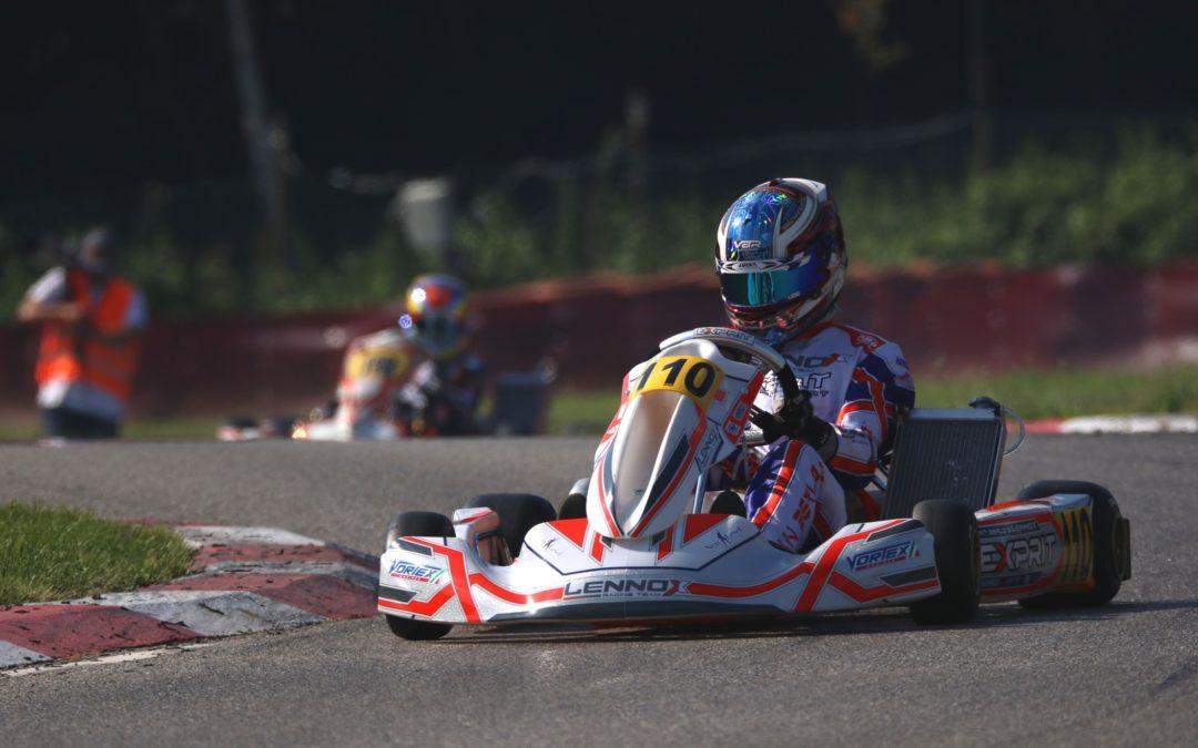 KNAF Academy-pupil Kas Haverkort dertiende bij derde ronde CIK-FIA Europees Kampioenschap OK