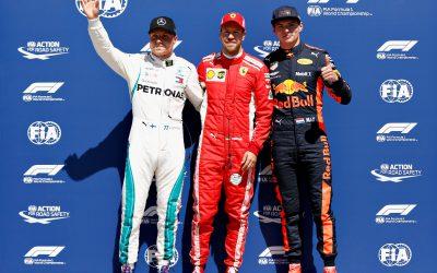 """Max derde in Grand Prix van Canada: """"Een hele goede race"""""""