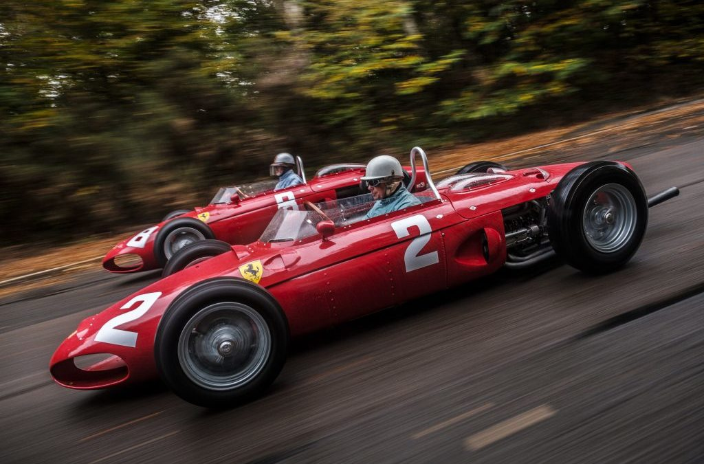 Historic Grand Prix Zandvoort laat legendarische Ferrari 'Sharknose' Formule 1's herleven