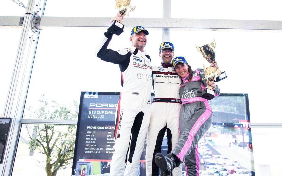 Team RaceArt knoopt weer aan met zege in Porsche Cup Benelux