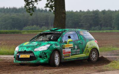 Roald Leemans runner-up in klasse RC3 tijdens ELE Rally