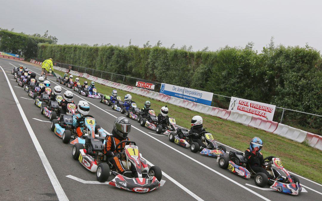 Kartfestival geeft nieuw talent de kans bij flitsende start op Kartbaan Strijen
