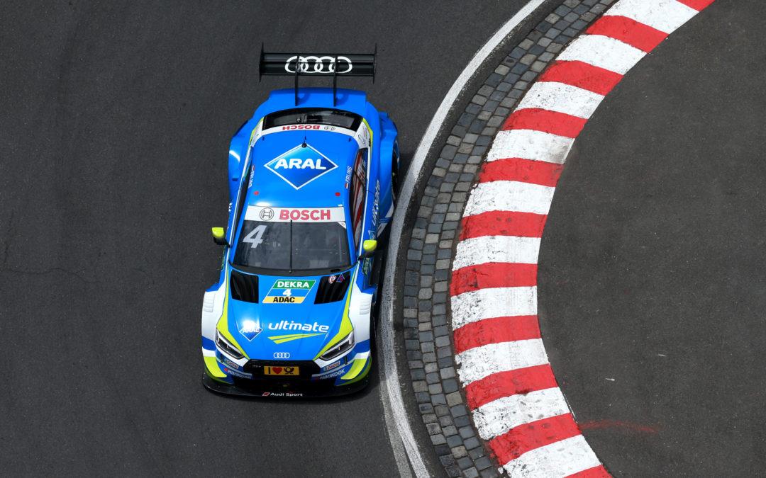 Robin Frijns op één na beste Audi-coureur op Norisring
