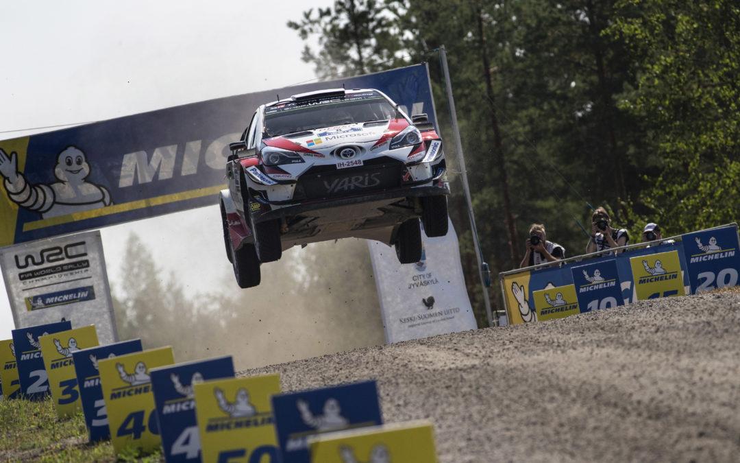 Toyota GAZOO Racing wint Rally van Finland