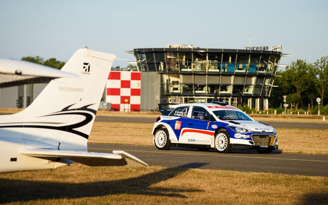 Prachtig startveld voor de GTC Rally