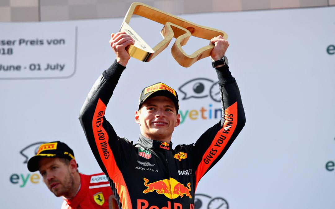 """Max Verstappen wint Grand Prix van Oostenrijk in stijl: """"Deze voelt heel goed"""""""