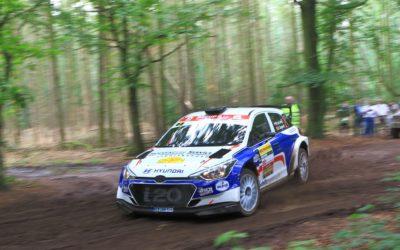 Bob de Jong topfavoriet met Hyundai i20 R5 in GTC Rally.