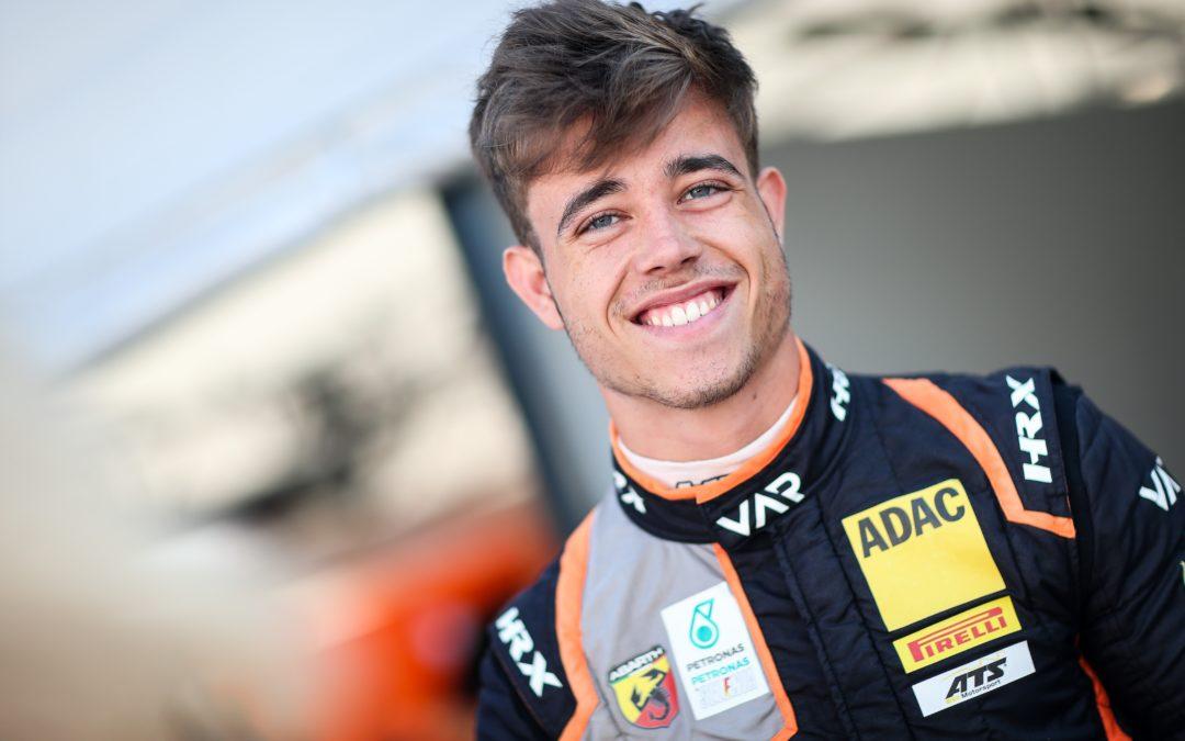Klompen, stroopwafels, kaas en drop voor Sebastian Vettel; racetalent Joey Alders leeft zich uit op Hockenheimring