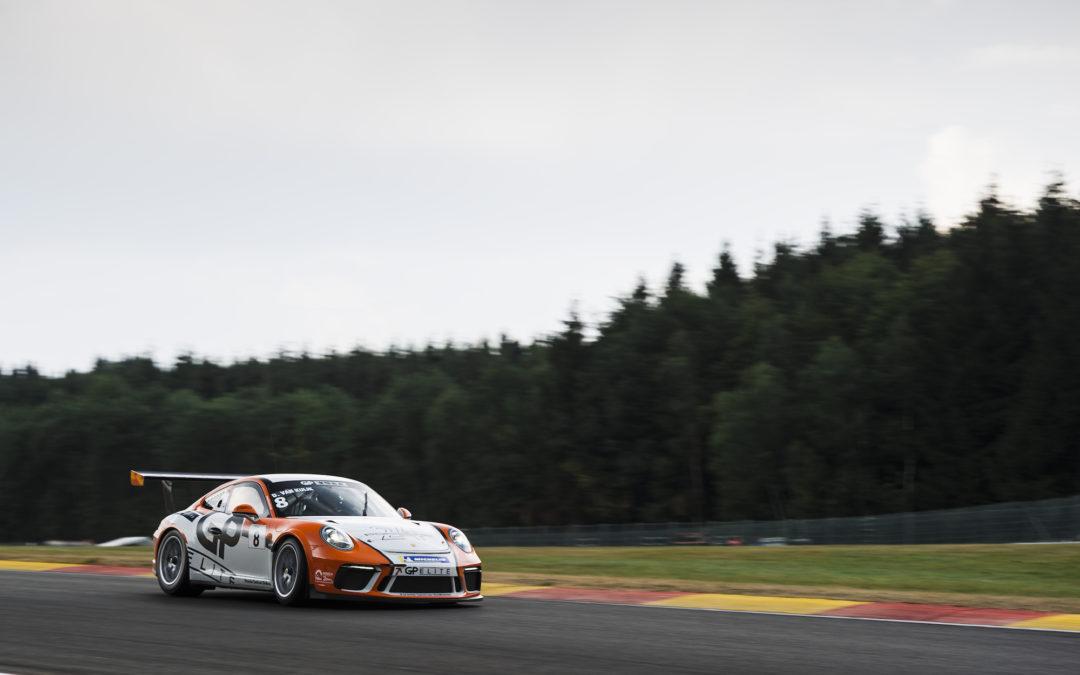 Spectaculaire Porsche GT3 Cup Challenge Benelux races in het voorprogramma van de 24 uur van Spa!