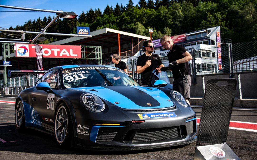 Team RaceArt behaalt nieuwe zege in de Porsche GT3 Cup Challenge Benelux op Spa-Francorchamps