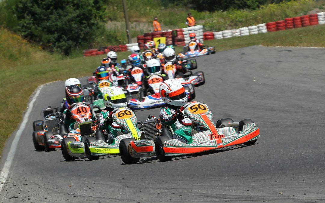 Razendsnelle tweelingbroertjes Nick en Tim Gerhards domineren NK karten in Spa