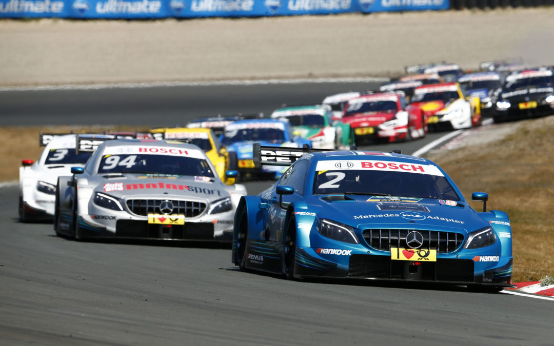 Mercedes-AMG locks out the top four: Gary Paffett wins at Zandvoort