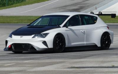 Elektrische CUPRA e-Racer voor het eerst circuit op (VIDEO)