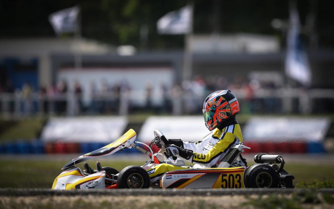 Tiende plaats voor Robert de Haan bij tweede ronde CIK-FIA Karting Academy Trophy