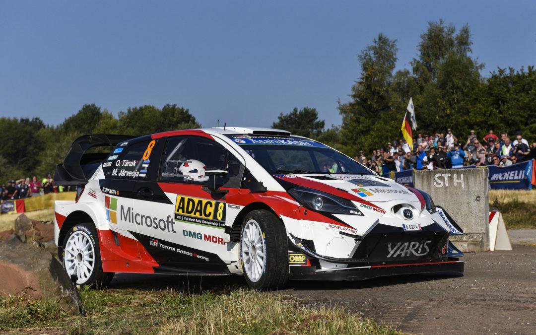 Toyota GAZOO Racing behaalt winst in Rally van Duitsland