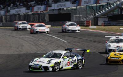 Indrukwekkende zege Jaap van Lagen in Porsche Carrera Cup