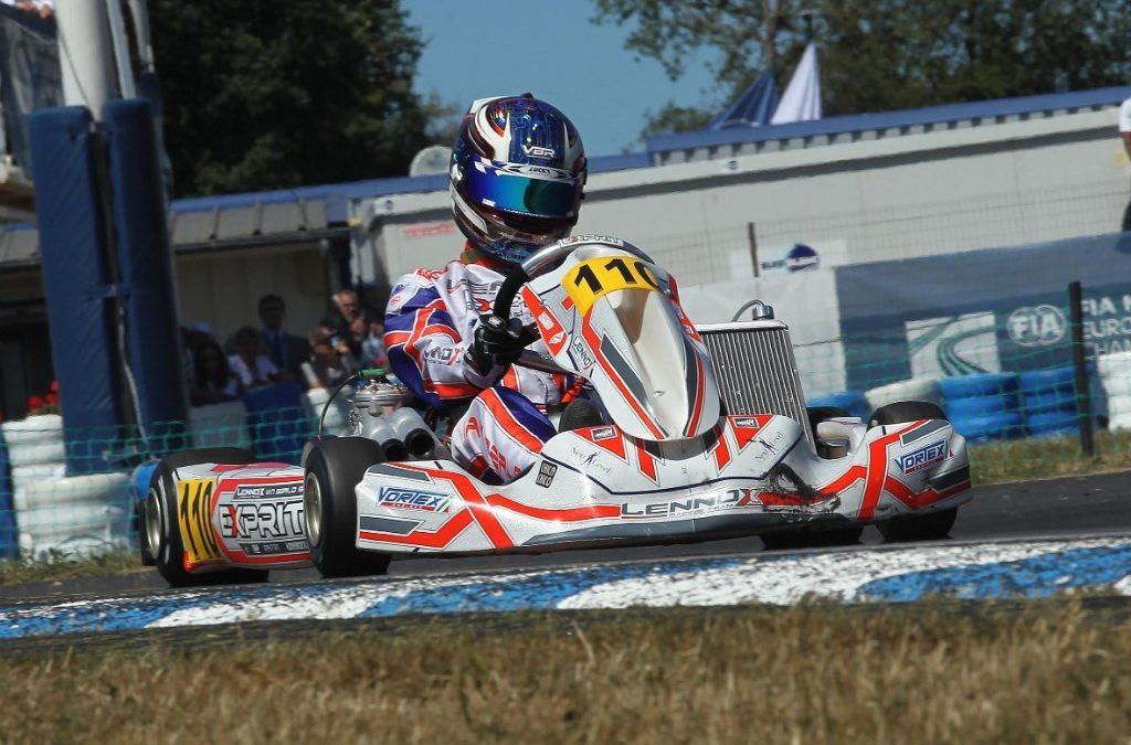 Sterk optreden KNAF Academy-pupillen in afsluitende ronde CIK-FIA Europees Kampioenschap OK