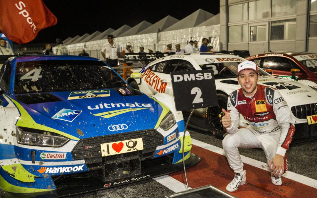 Eerste DTM-podiumplaats voor Audi-coureur Robin Frijns