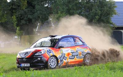 Succesvolle comeback Timo van der Marel tijdens Eurol Hellendoorn Rally 2018