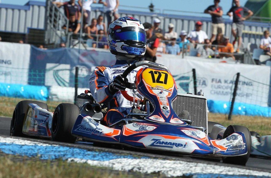 Fraaie tiende plaats voor Tijmen van der Helm bij CIK-FIA Wereldkampioenschap OK