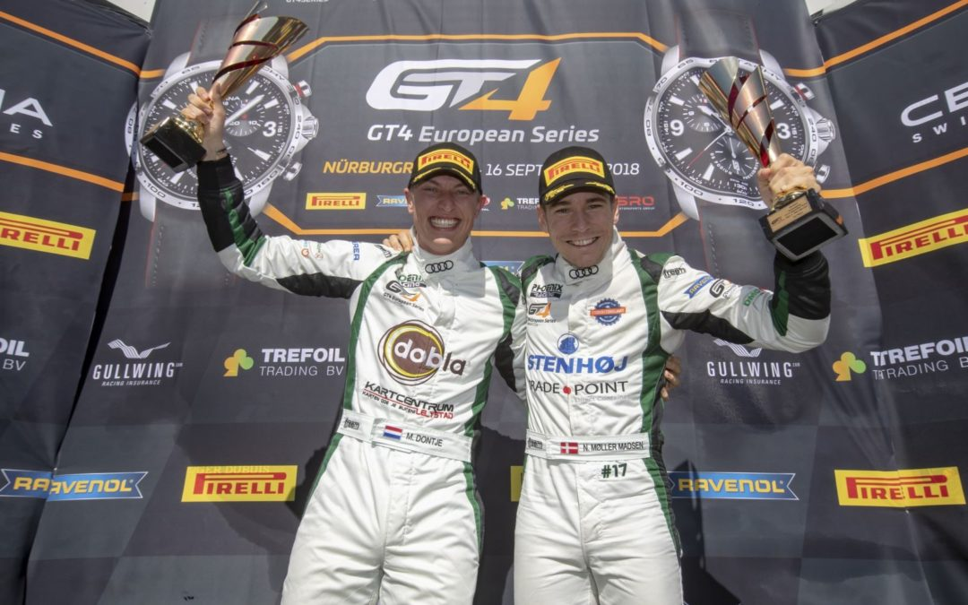Dontje and Moller-Madsen win Silver Cup after dramatic final race
