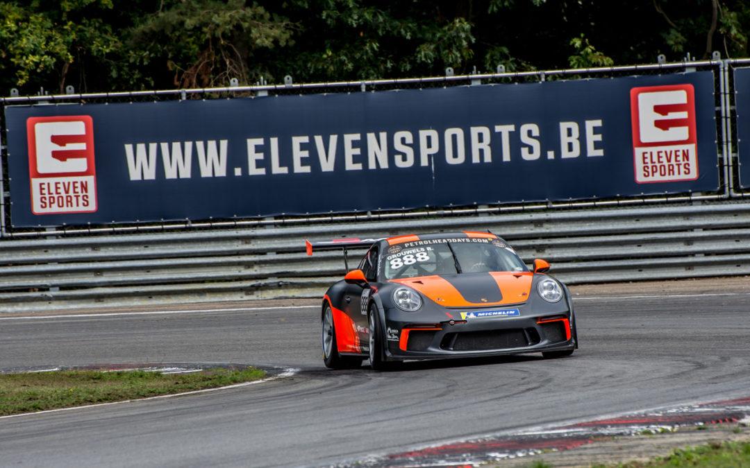 Team RaceArt moet titeldromen in de Porsche GT3 Cup Challenge Benelux een jaar opbergen