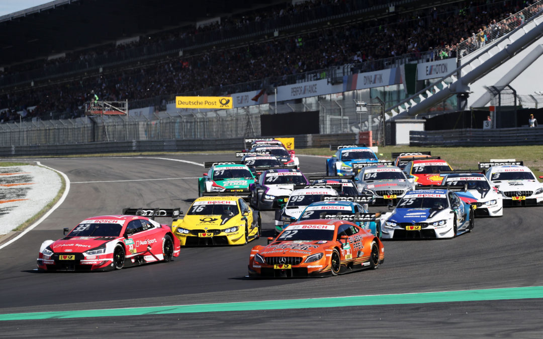 New three-year deal: DTM to keep on racing at the Nürburgring