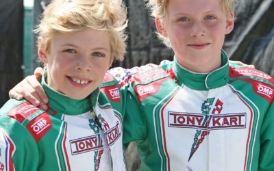 Razendsnelle kartende tweeling Gerhards manifesteert zich in de Nederlandse top: na één-tweetje in Spa, nu weer een zege