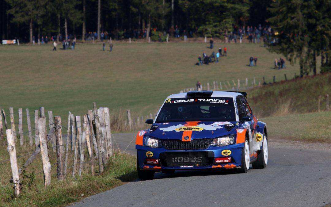 Kobus en de Wild opnieuw Nederlands rallykampioen