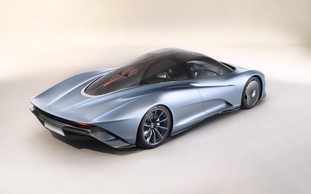 De McLaren Speedtail: een gedenkwaardige eenheid van kunst, technologie en snelheid