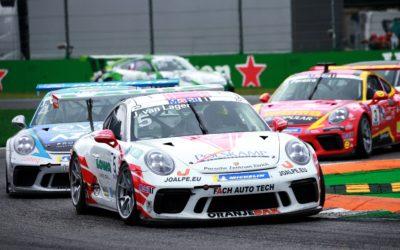 Jaap van Lagen helpt Fach Auto Tech aan vice-kampioenschap in Porsche Supercup
