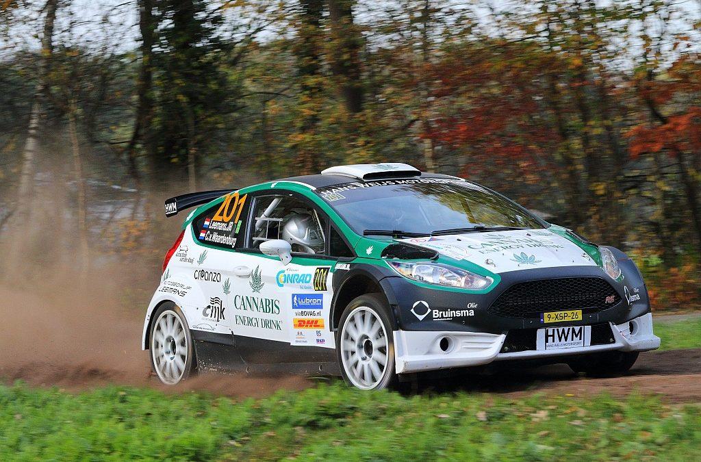 Geslaagde Twente Short Rally voor breed grijnzende Roald Leemans