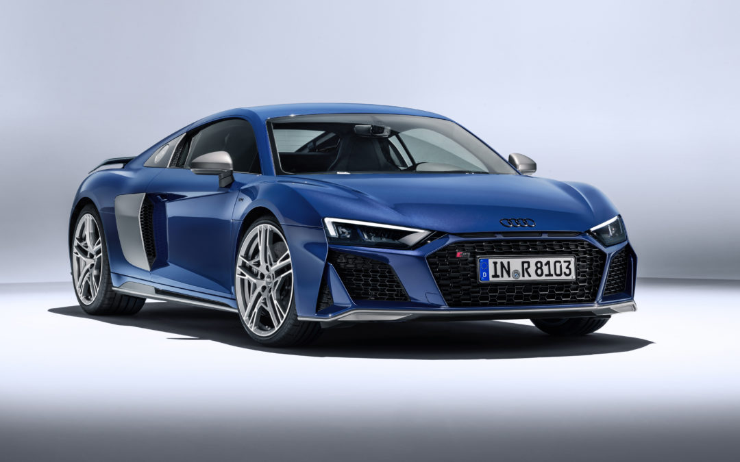 Nog heter: Audi R8 Coupé en Spyder (VIDEO)