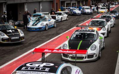Circuit Paul Ricard is het decor voor de finale van de Porsche GT3 Cup Challenge Benelux 2018