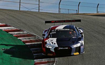Dries Vanthoor draagt stevig bij tot internationale GT-titel voor Audi Sport in Laguna Seca