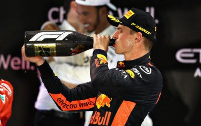 """Max Verstappen besluit 2018 met podium in Abu Dhabi: """"Geen makkelijke race, maar erg blij"""""""