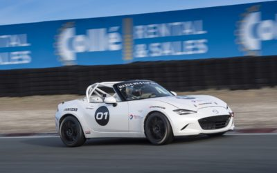 Eerste shake-down nieuwe Mazda MX-5 Cup racer succesvol verlopen