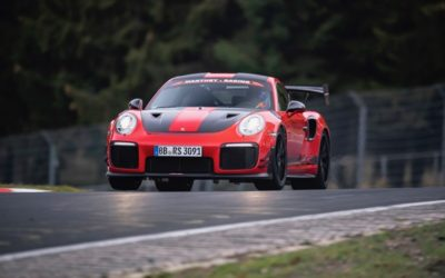911 GT2 RS MR: snelste straatlegale sportwagen op de Ring