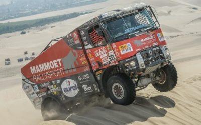 'Inzet van team Mammoet Rallysport is niet beloond' (video)