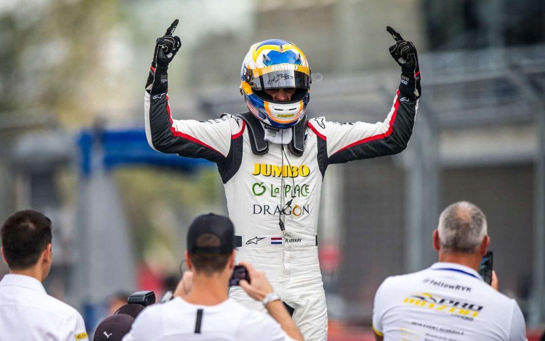 Rinus van Kalmthout maakt indruk met dubbele winst bij opening F3 Asian Winter Series
