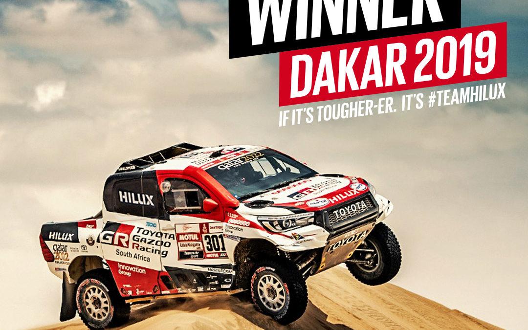 Toyota GAZOO Racing wint de Dakar Rally 2019