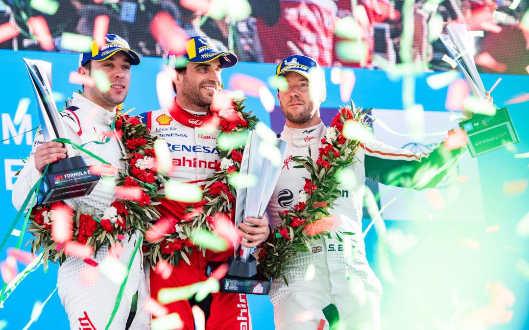 Audi-fabriekscoureur Robin Frijns behaalt beste Formule E-resultaat tot dusver