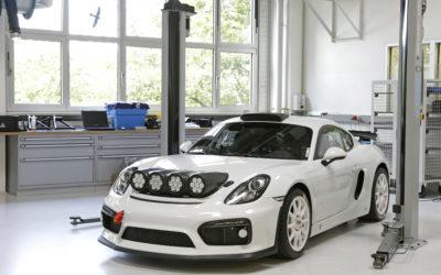 Porsche keert terug in rallysport: Cayman GT4 Rallye