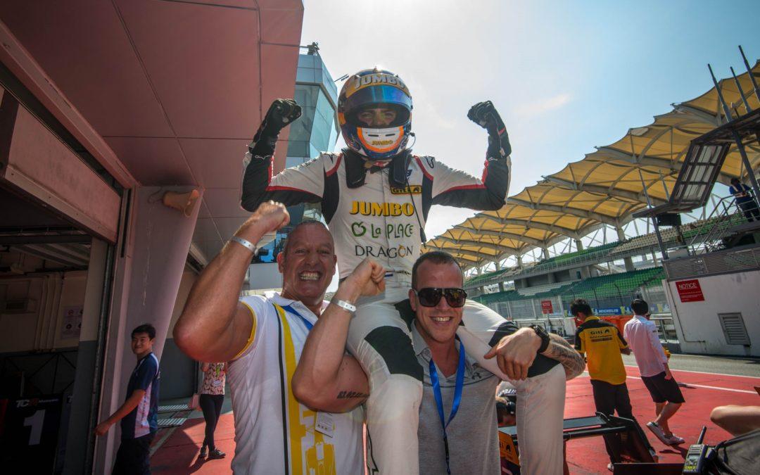 Rinus van Kalmthout in Sepang naar titel in F3 Asian Winter Series