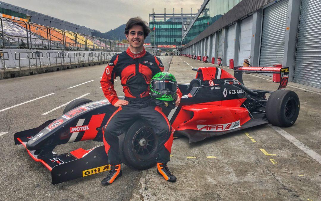 Autocoureur Joey Alders debuteert in Asian Formula Renault Series