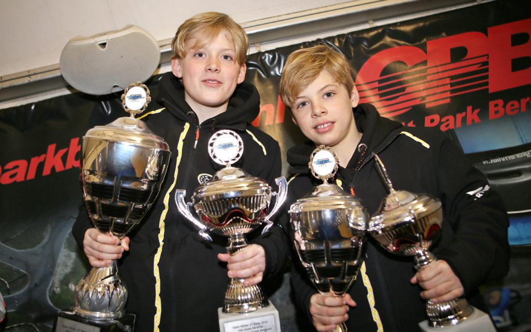 Broertjes Gerhards maken het waar in de Winter Cup: eerste en derde in eindstand!
