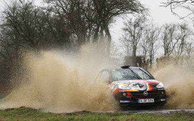 Timo van der Marel levert prachtige strijd tijdens Herock Spa Rally
