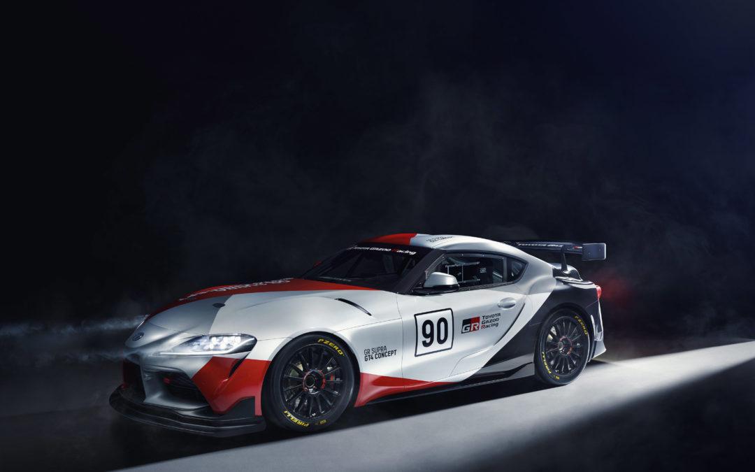Toyota GR Supra GT4 Concept: ontworpen om toe te slaan op het circuit