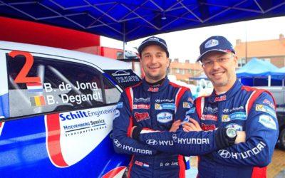 Sterke start rallyseizoen Bob de Jong in Zuiderzeerally